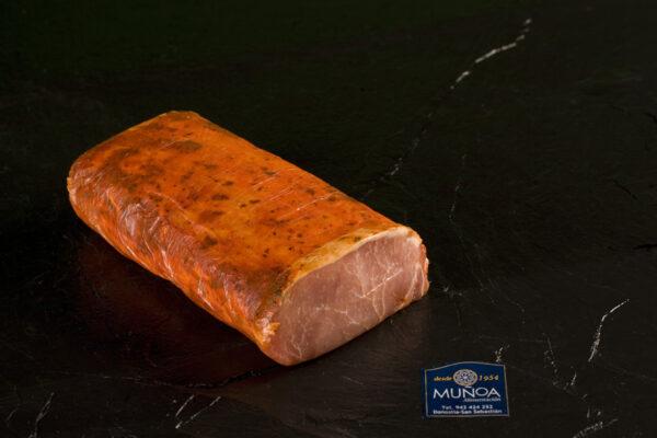 Lomo de cerdo ibérico adobado