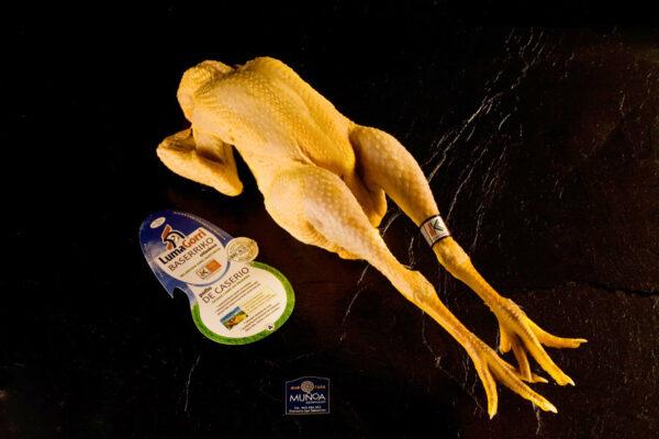 pollo de caserío con Eusko Label Lumagorri