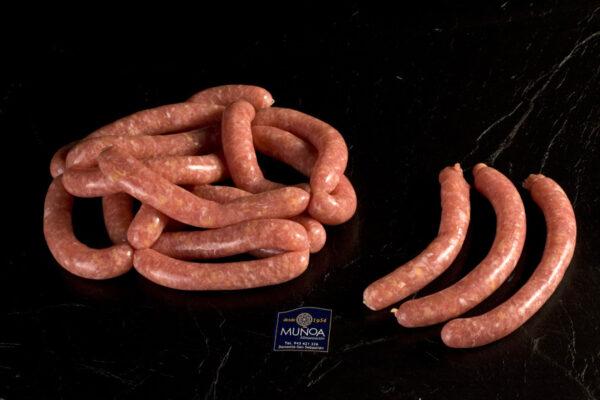 Salchichas de pollo caserío Eusko Label Muñoa