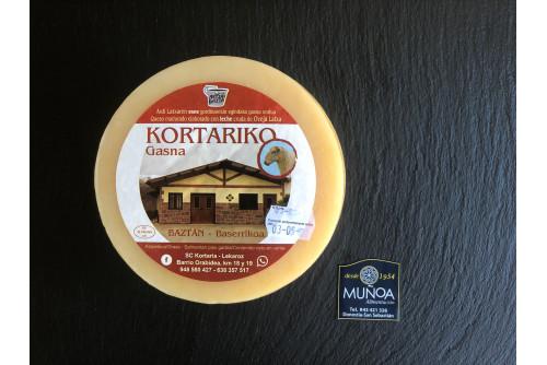 Queso Kortariko Gasna