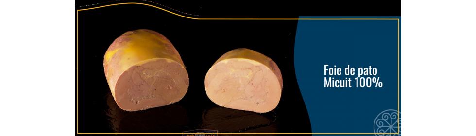 Foie de pato micuit 100%
