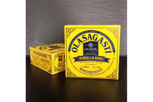 Ventresca de bonito del norte en aceite de oliva Olasagasti