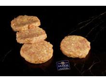 Hamburguesa de pollo de caserío