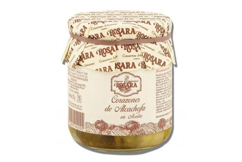 Alcachofas en aceite de oliva Rosara