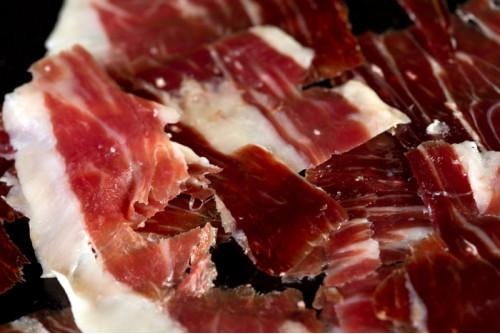 Jamón 100% Ibérico de Bellota Dehesa de Calvaches cortado a cuchillo