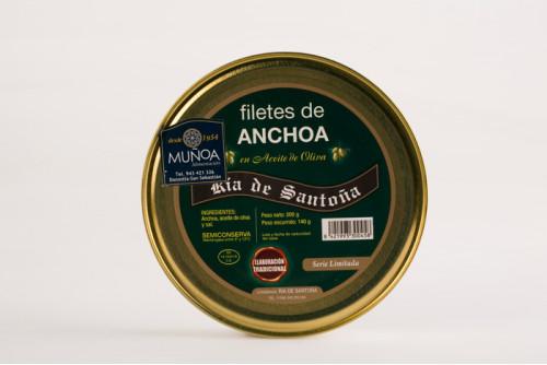 Anchoas en aceite de oliva Ría de Santoña (Serie Limitada)
